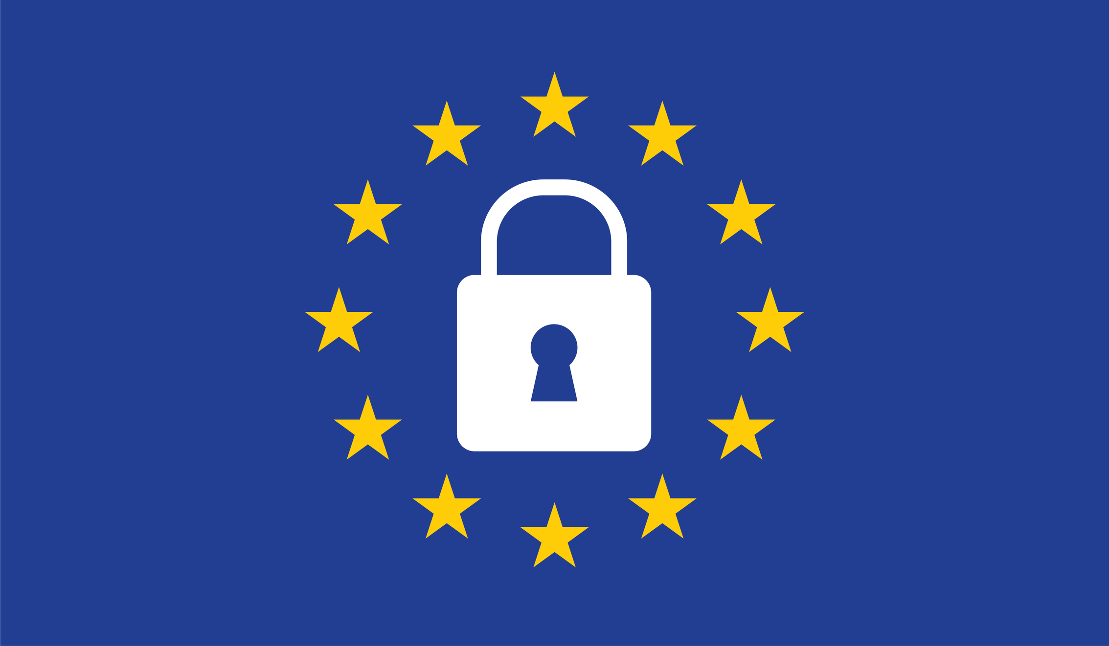 General Data Protection Regulation (GDPR) padlock