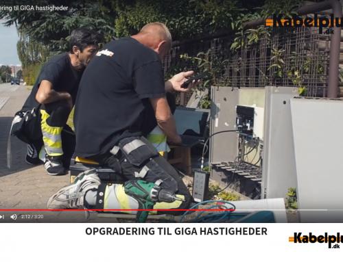 Opgradering til GIGA hastigheder